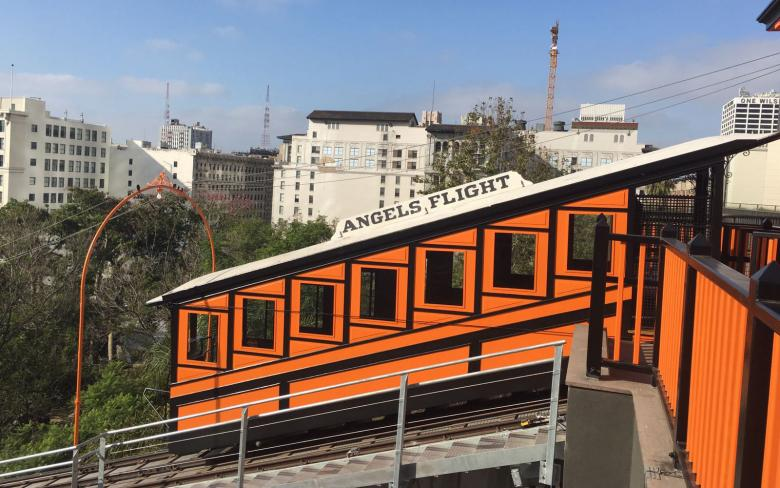 Funicular Angels Flight de Los Ángeles