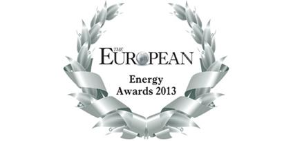 2013 Premio European Energy Awards de la Revista The European