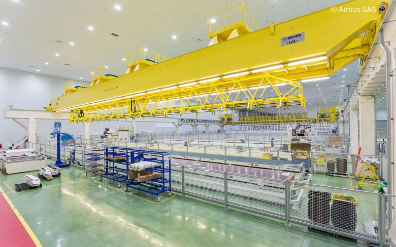SENER participates in the A350XWB wing stringer production and positioning cell