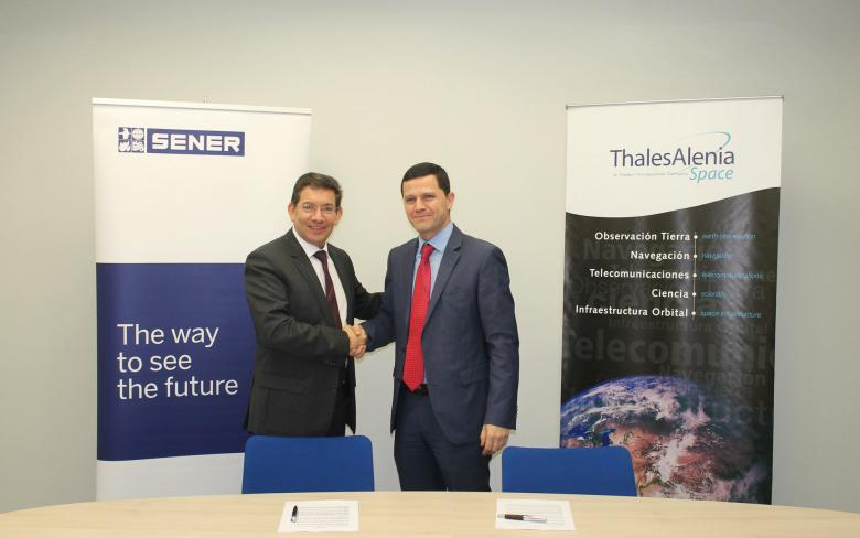 SENER and Thales Alenia Space begin their business alliance in optical payloads for space missions