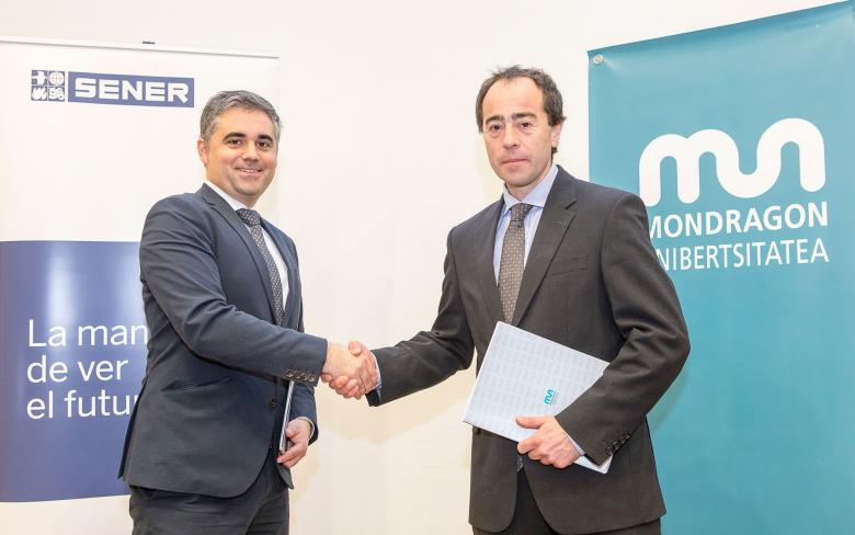 SENER and MONDRAGON UNIBERTSITATEA Polytechnic College sign an agreement and promote the SENER Classroom