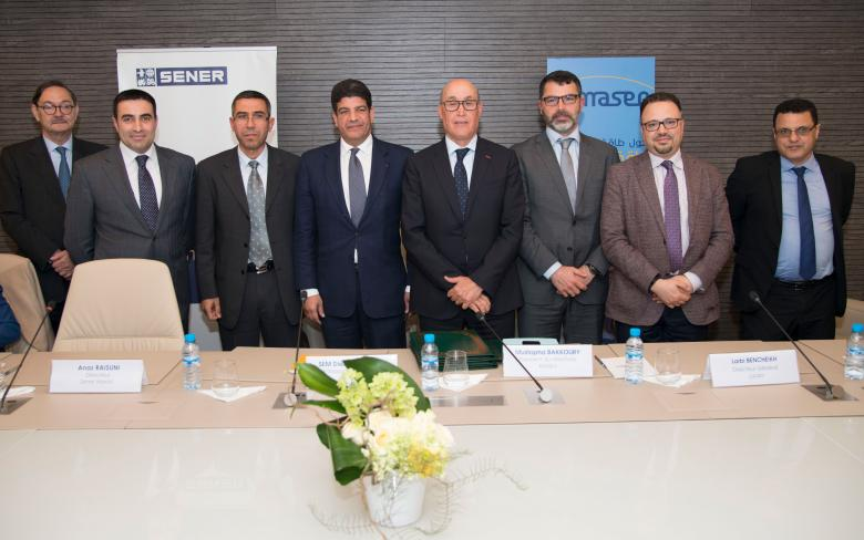 SENER, Masen and the OFPPT sign a partnership agreement to train the future workforce at Noor Ouarzazate II and III