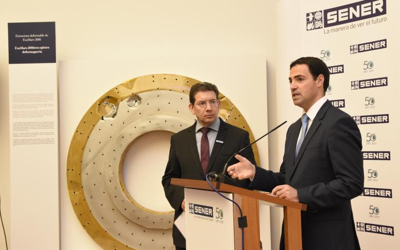 SENER holds an exhibition for the general public to share in its 50th anniversary of Space projects