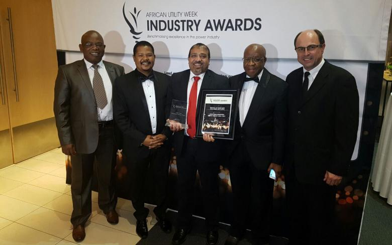 SENER: Kathu solar park and Bokpoort concentrated solar plant acknowledged by the African Utility Week Industry Awards
