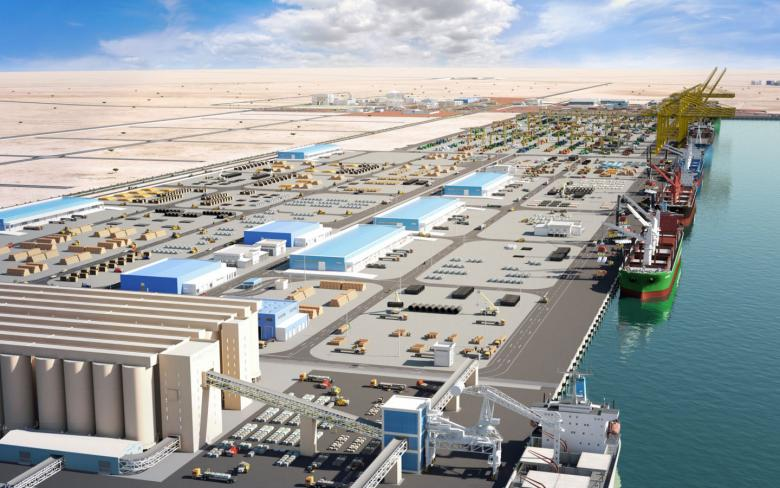 Hamad Port in Qatar