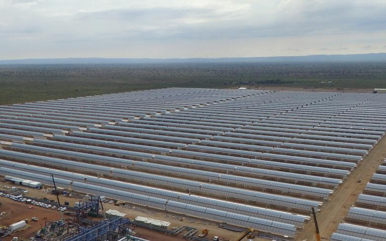 Concentrated Solar Power Kathu solar thermal plant has successfully accomplished connection to the national grid