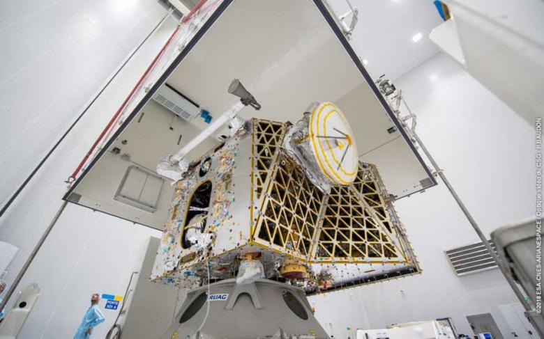 SENER Group's companies supply the antennas to the BepiColombo satellite