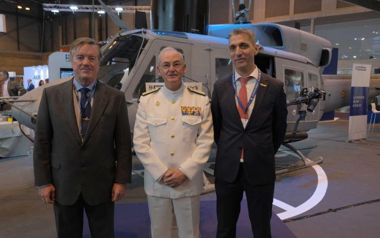 SENER and Babcock commemorate the end of the AB-212 helicopters life extension program for the Spanish Navy
