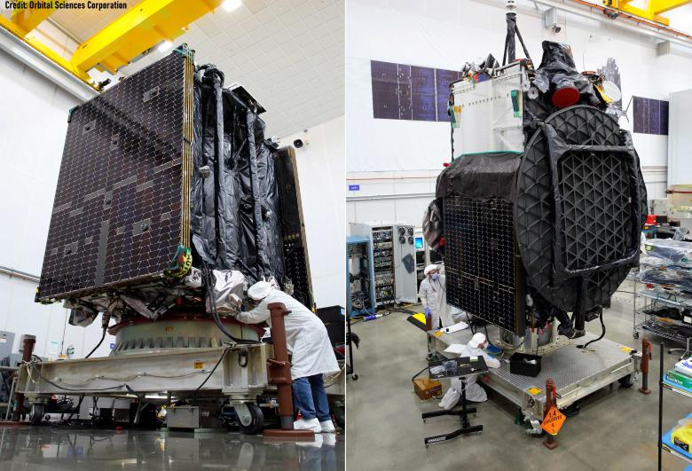 Galaxy 30 and MEV-2 satellites successfully launched, with SENER Aeroespacial components