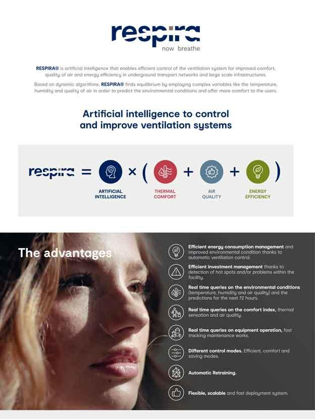 RESPIRA® - Artificial Intelligence to control and improve Ventilation Systems