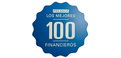 Ranked in Actualidad Economics '100 best financiers'