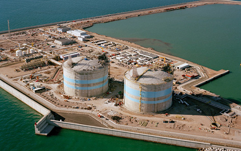 First LNG plant built by SENER